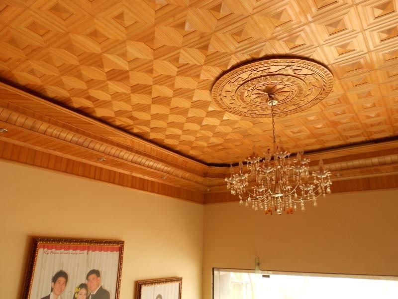 Ốp trần gỗ pơ mu là sự lụa chọn hàng đầu