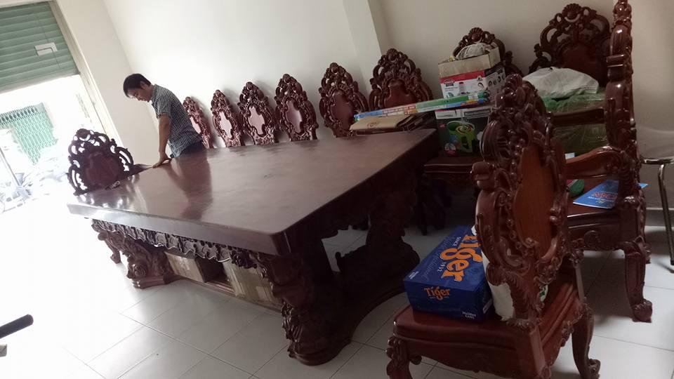 Mua bán thanh lý nội thất gỗ hương tự nhiên tại Hà Nội 1