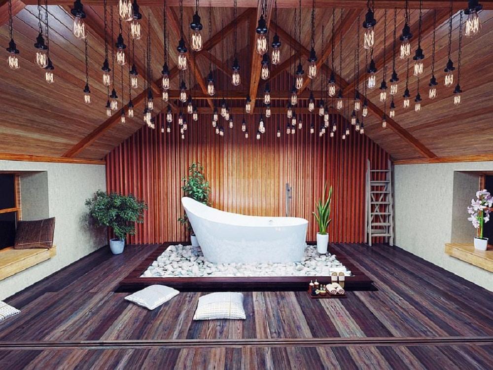 Những lưu ý khi lắp đặt sàn, trần gỗ căm xe