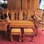Kết hợp gỗ căm xe và nội thất