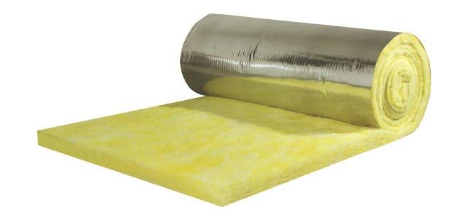 Công dụng của bông thủy tinh có giấy bạc chống nóng