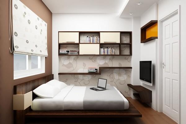 Mẫu thiết kế phòng ngủ nhỏ bạn nên áp dụng ngay