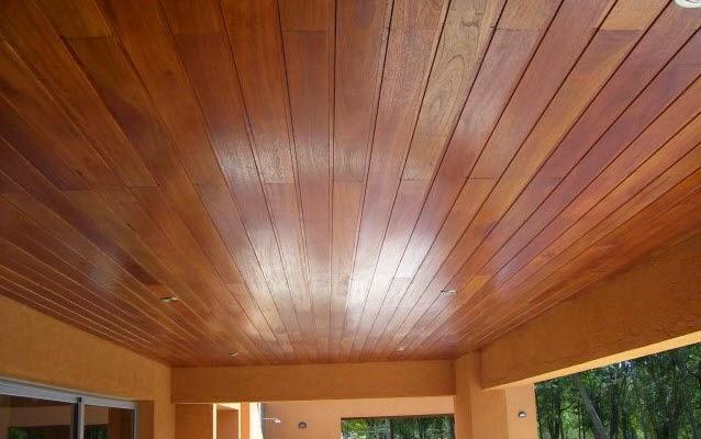 Ốp trần gỗ thông