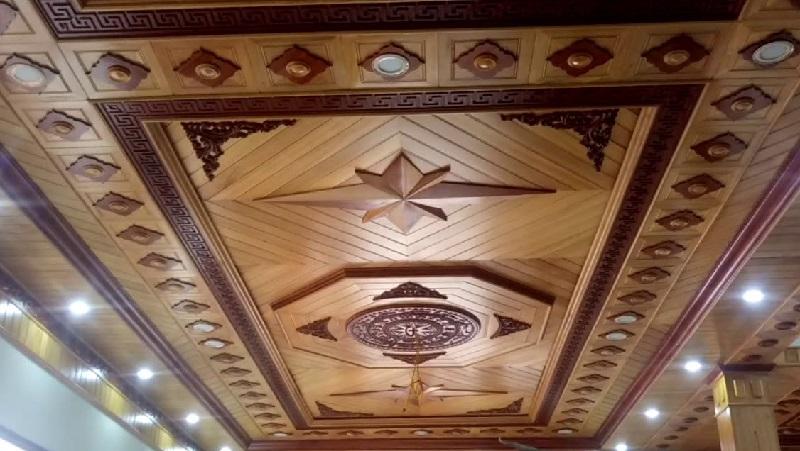 Mẫu trần gỗ tự nhiên đẹp 2020